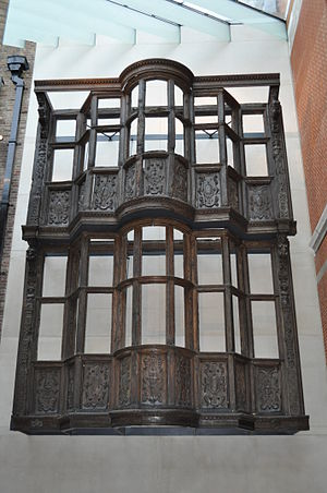 Paul Pindar - The frontage of Paul Pindar's house on Bishopgate is preserved in the Victoria and Albert Museum.