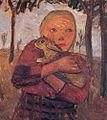 Paula Modersohn-Becker Mädchen mit Kaninchen.jpg