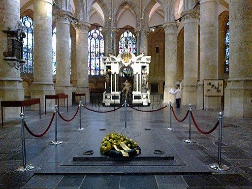 Pays-Bas Delft Nieuwe Kerk Choeur Mausolee Guillaume Taciturne Caveau Princes Orange - panoramio