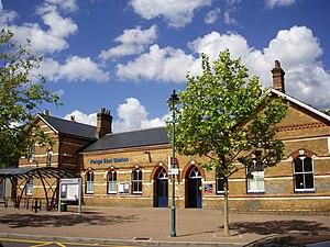 Penge East railway station - Image: Penge East Railway Station