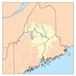Penobscot River - The Penobscot River watershed