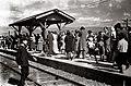 People at the platform on Tamsui Line.jpg