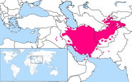 Persian Language Location Map1