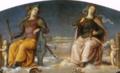 Perugino, fortezza e temperanza.png