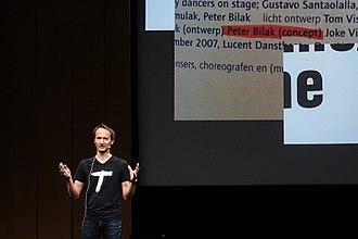 Peter Biľak - Peter Bil'ak at Typo berlin 2017