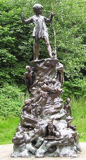 PeterPan Statue Londres