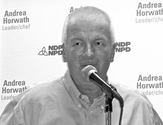Peter Kormos - Peter Kormos at an ONDP event in August 2009