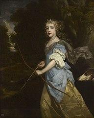 Mary II (1662-94), when Princess