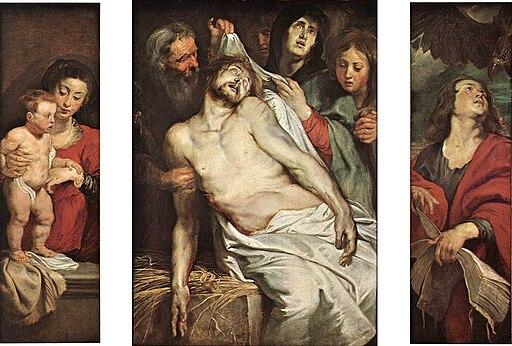 Peter Paul Rubens - Lamentation of Christ