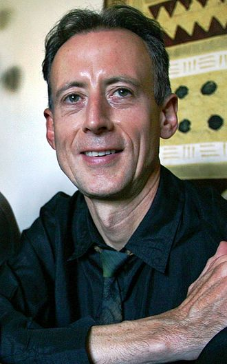 Peter Tatchell - Peter Tatchell at his home in 2007