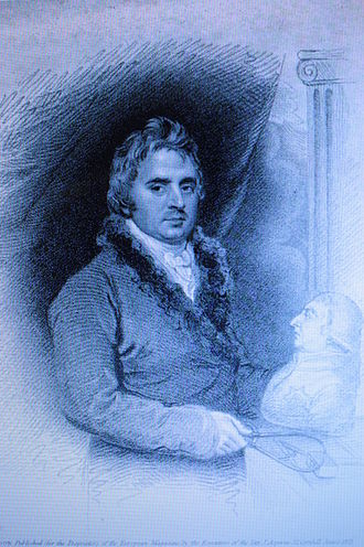 Peter Turnerelli - Peter Turnerelli, engraved by James Thomson, 1821