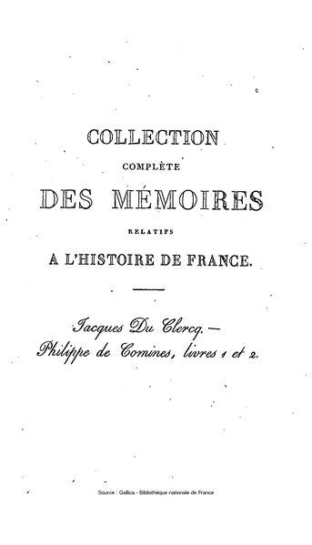 File:Petitot - Collection complète des mémoires relatifs à l'histoire de France, 1re série, tome 11.djvu