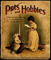 Pets and Hobbies; a little girl reads to her dogs Wellcome V0010802.jpg