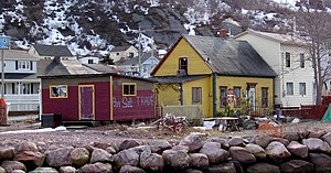 Petty Harbour-Maddox Cove - Some houses in Petty Harbour.