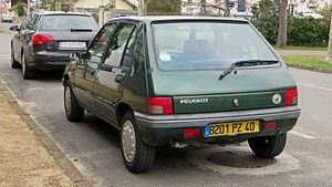 Peugeot 205 - 5-door (facelift)