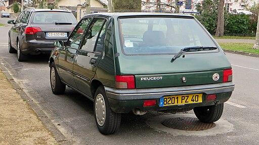 Peugeot 205, France 1994 model