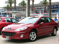 Peugeot 407 Wikipedia Wolna Encyklopedia