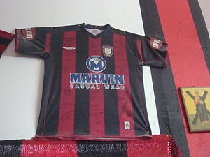 Panachaiki F.C. - Shirt of the team