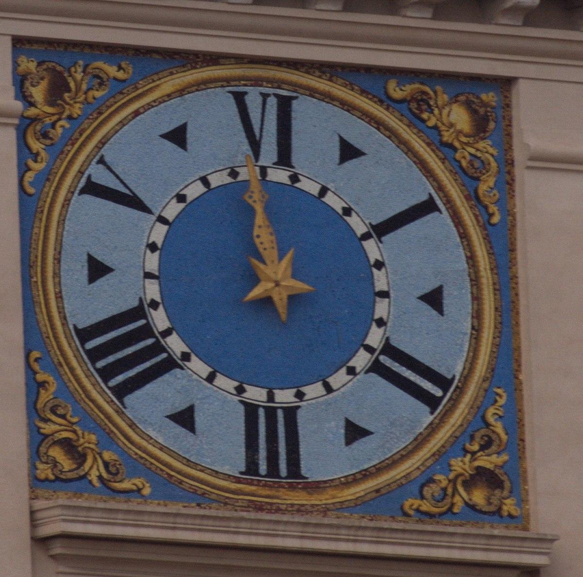 Italian six-hour clock - Wikipedia