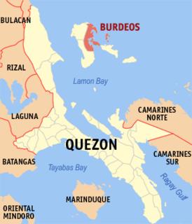 Burdeos Municipality in Calabarzon, Philippines