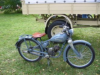 Robur (truck) - Phänomen Bob 98 cc motorcycle