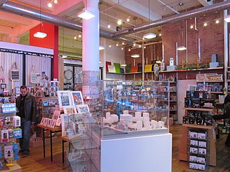Center for Architecture and Design - The AIA Bookstore at the Center  1218 Arch Street, Philadelphia