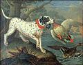 Philipp ferdinand hamilton, anatre selvatiche cacciate da un cane.JPG