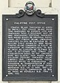 Philippine Post Office historical marker.jpg