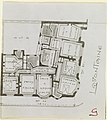 Photograph, Photograph of a Floor Plan of an Apartment Building Designed by Hector Guimard (No. 8), 1911 (CH 18387433).jpg