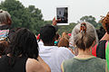 Photographing the event with an iPad - 50th Anniversary of the March on Washington for Jobs and Freedom.jpg