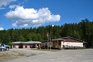 Pickle Lake - Pickle Lake municipal office and library