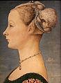 Piero del pollaiolo, ritratto di giovane donna, 1470-75 ca. (poldi pezzoli) 03.JPG