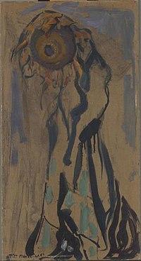 Piet Mondriaan - Dying sunflower II - 0334282 - Kunstmuseum Den Haag.jpg
