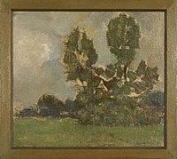 Piet Mondriaan - Field with two tree silhouettes II - 0334229 - Kunstmuseum Den Haag.jpg