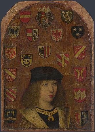 Pieter van Coninxloo - Image: Pieter van Coninxloo Philip the Handsome NG 2613.1