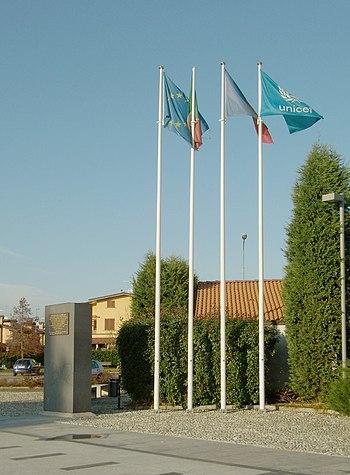 Italiano: Pieve Fissiraga - Monumento alla Cos...