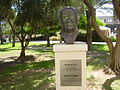 PikiWiki Israel 13220 Statue of Ben Gurion at Ben Gurion University.jpg