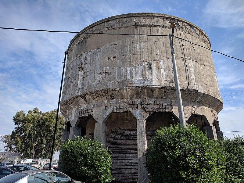 מגדל המים בבאר טוביה