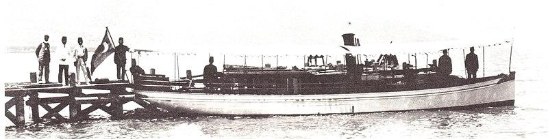 סירת הקיטור הראשונה בכנרת