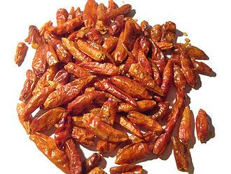 Piri piri - Dried piri piri chilis