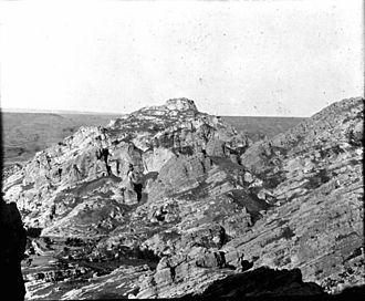 Corduene - Castle of Pinaca (or Finik), northwest of Cizre