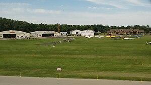 Pioneer Airport - Hangars at the airport