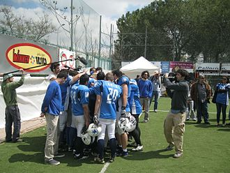 Tel Aviv Pioneers - Pioneers at Israel Bowl V
