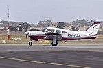 Piper PA-28R-200 Arrow II (VH-IGL) taxiing at Wagga Wagga Airport (2).jpg