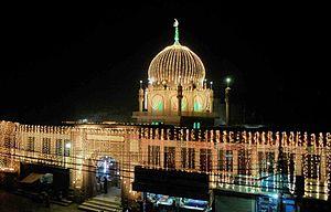 Pir Syed Wali Muhammad Shah Chadar Walai Sarkar Mazaar Sharif