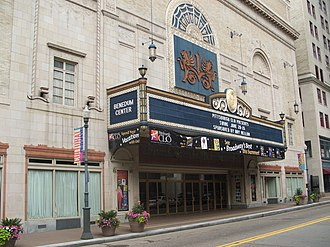 Cultural District, Pittsburgh - The Benedum Center (formerly The Stanley Theatre)