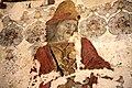 Pittura murale di Giovanni Boccati con la raffigurazione degli Uomini d'Arme,1.JPG