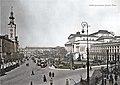 Plac Teatralny w kolorze. 1925.jpg