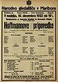 Plakat za predstavo Hoffmannove pripovedke v Narodnem gledališču v Mariboru 10. decembra 1922.jpg