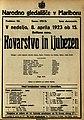 Plakat za predstavo Kovarstvo in ljubezen v Narodnem gledališču v Mariboru 8. aprila 1923.jpg